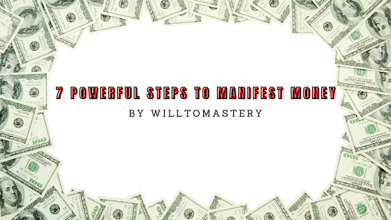 manifest money the real and simple way