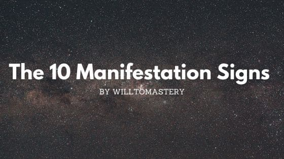 The most obvious manifestation signs that your desires are coming your way