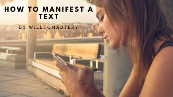 How to manifest a text