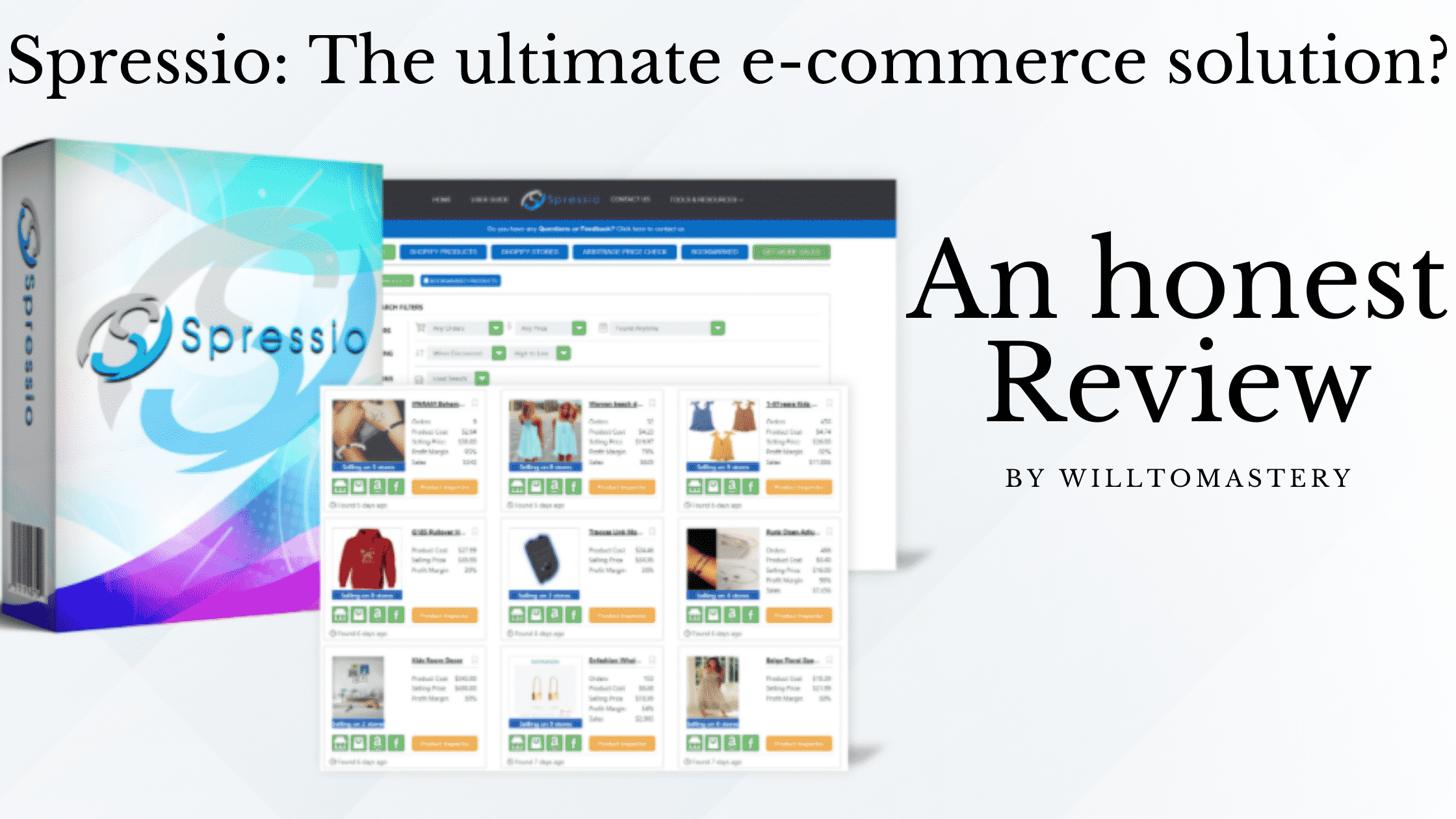 Spressio Review The Ultimate E-Commerce Solution