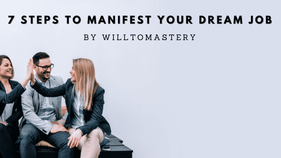 how to manifest a job